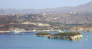 Leon and Souda islets, Crete, Greece