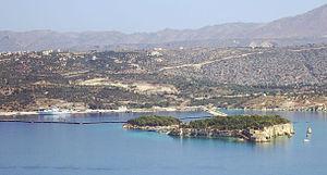 Leon and Souda islets, Crete, Greece