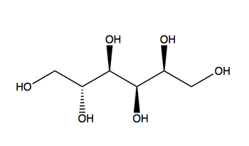The structure of Sorbitol