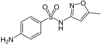 """structure Sulfamethoxazole"""