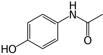 Tylenol (Kekulé Diagram)