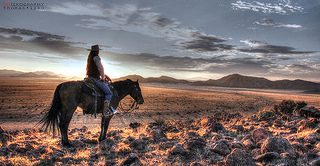 -cowgirl scenery
