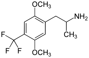 2,5-Dimethoxy-4-trifluoromethylamphetamine; DOTFM