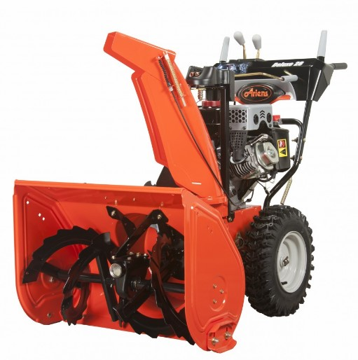 This Ariens snow blower throws snow over 50 feet
