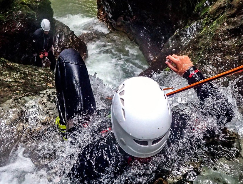 Climbing mountains or canyoning Bled will provide a thrill