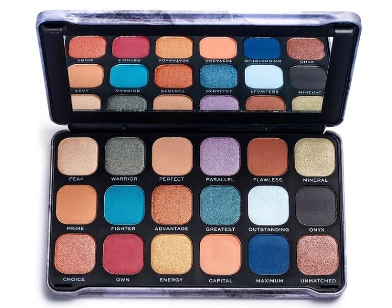 Cosmetics palette Revolution
